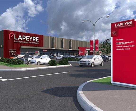 <p>Votre <br />magasin <br />Lapeyre</p>